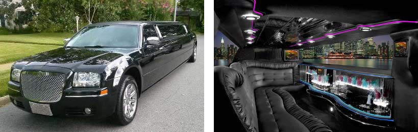 chrysler limo rental Springfield