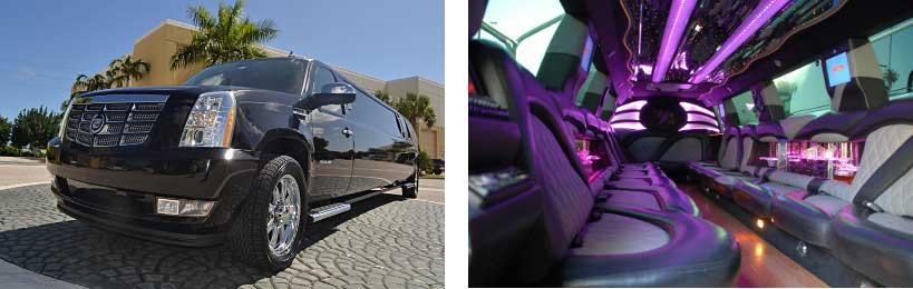 escalade limo service Euclid