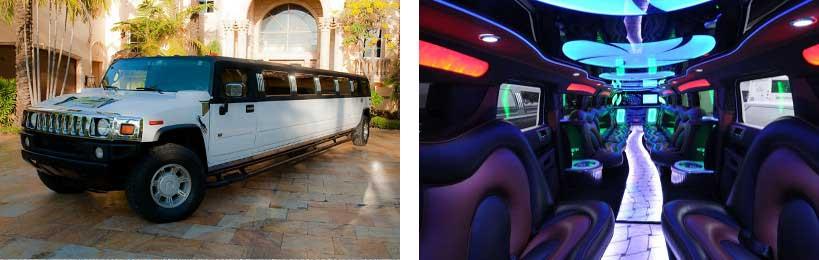 hummer limo service Warren