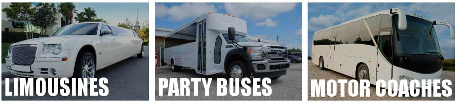 party bus limo service Newark