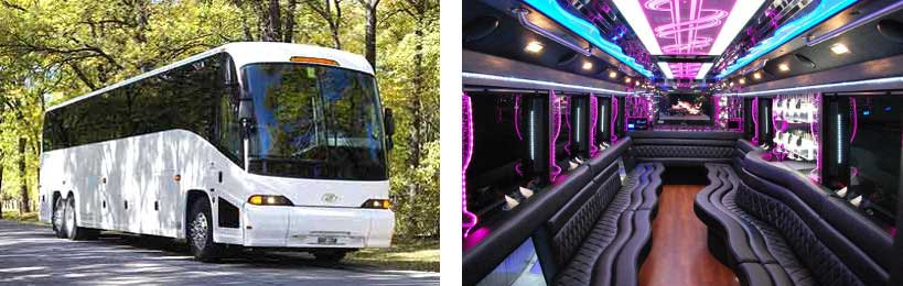 party bus rental Warren
