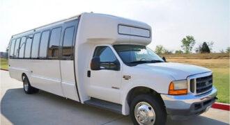 20 passenger shuttle bus rental Mansfield