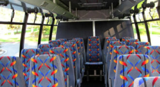 20 person mini bus rental Hamilton