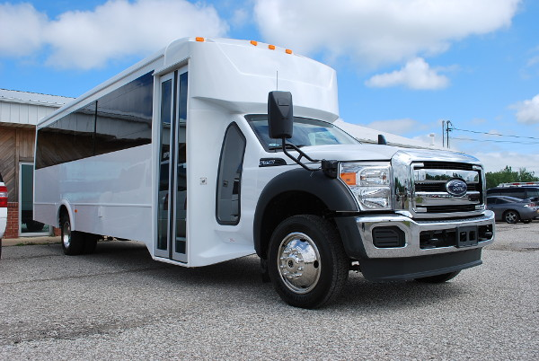 30 passenger bus rental Hamilton