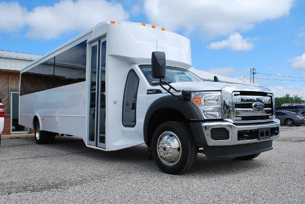 30 passenger bus rental Mansfield