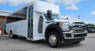 30 passenger bus rental Newark