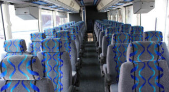 30 person shuttle bus rental Mansfield