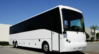 40 passenger charter bus rental Springfield