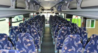 40 person charter bus Lakewood