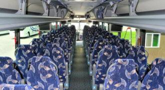 40 person charter bus Newark