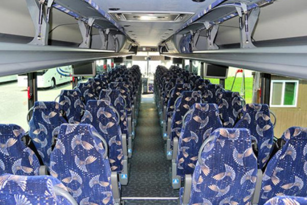 40 person charter bus Newark
