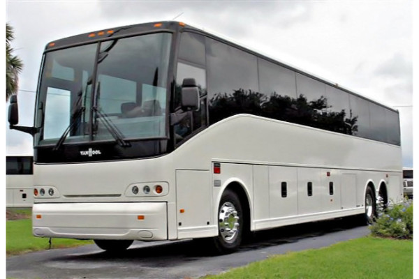 50 passenger charter bus Grove City