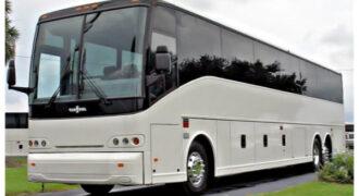 50 passenger charter bus Lorain