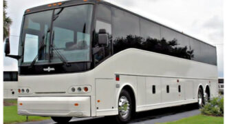 50 passenger charter bus Mentor