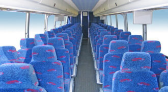 50 person charter bus rental Lakewood