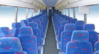 50 person charter bus rental Newark