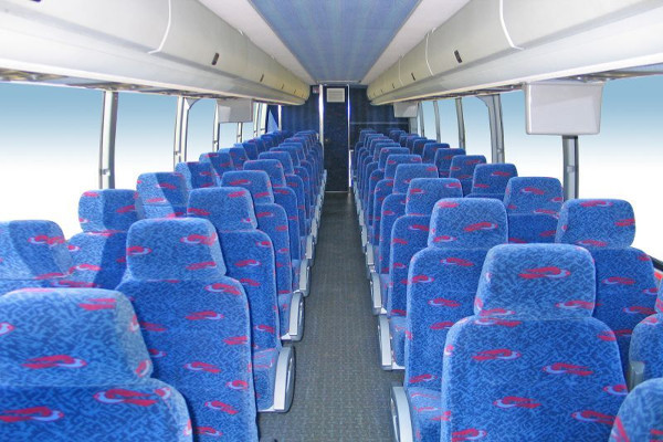 50 person charter bus rental Newark